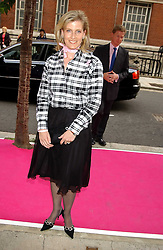 HRH The COUNTESS OF WESSEX at a charity event 'In The Pink' a night of music and fashion in aid of the Breast Cancer Haven in association with fashion designer Catherine Walker held at the Cadogan Hall, Sloane Terrace, London on 20th June 2005.<br />