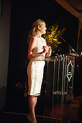 KATHRYN PARSONS; ( WINNER OF THE NEW GENERATION AWARD ) The Veuve Clicquot Business Woman Of The Year Award, celebrating women's excellence in business and commitment to sustainability. Claridge's, Brook Street, London, 22 April 2013