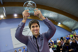 Ziga Janskovec, best coach at Tennis exhibition day and Slovenian Tennis personality of the year 2013 annual awards presented by Slovene Tennis Association TZS, on December 21, 2013 in BTC City, TC Millenium, Ljubljana, Slovenia.  Photo by Vid Ponikvar / Sportida