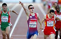 Friidrett<br /> EM 2012 Helsingfors<br /> 01.07.2012<br /> Foto: Gepa/ Digitalsport<br /> <br /> Henrik Ingebrigtsen vinner EM-gull på 1500 meter