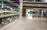 The Centre MK  is like a ghost town as some shops start to reopen photo by Brian Jordan