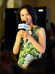 June 3, 2017 - Guangzh, Guangzh, China - Guangzhou, CHINA-June 3 2017: (EDITORIAL USE ONLY. CHINA OUT) ..Chinese actress Tang Wei attends a promotional event in Guangzhou, south China's Guangdong Province, June 3rd, 2017. (Credit Image: © SIPA Asia via ZUMA Wire)