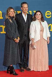 Amy Nauiokas, Melissa McCarthy and Richard E Grant attend BFI London Film Festival Headline Gala Screening of 'Can You Forgive Me', BFI Southbank, London. Friday 19th Oct 2018.
