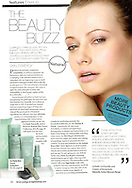Beauty feature on 'skin synergy' in the September issue of British Airways Highlife magazine, UK.  <br /> <br /> Images from our shoot 'beautiful skin', available for worldwide use with approval:  http://www.apixsyndication.com/gallery/beautiful-skin/G00004egwTx6Sezs/C0000w75MKgePh0c