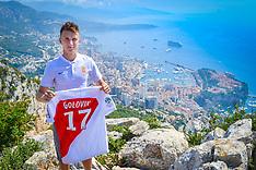 Monaco presents Aleksandr Golovin - 27 July 2018