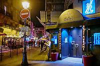 France, Paris (75), le club de jazz le Duc des Lombards, 42 rue des lombards, 75001 Paris