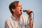 Alex Chilton with the Box-Tops at Deerpath Park, Readington Township, NJ 8/6/09