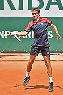 Tommy Robredo (ESP) during the mens singles second round of the Roland Garros Tennis Open 2017 at Roland Garros Stadium, Paris, France on 31 May 2017. Photo by Jon Bromley.