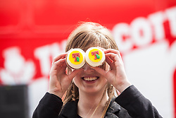 Jenni Henderson. The Vigo Thieves perform at the T in the Park Promo at QMU, Queen Margaret Drive, Musselburgh..© Michael Schofield..
