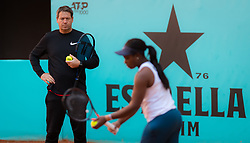 May 5, 2019 - Madrid, MADRID, SPAIN - Sven Groeneveld during practice at the 2019 Mutua Madrid Open WTA Premier Mandatory tennis tournament (Credit Image: © AFP7 via ZUMA Wire)
