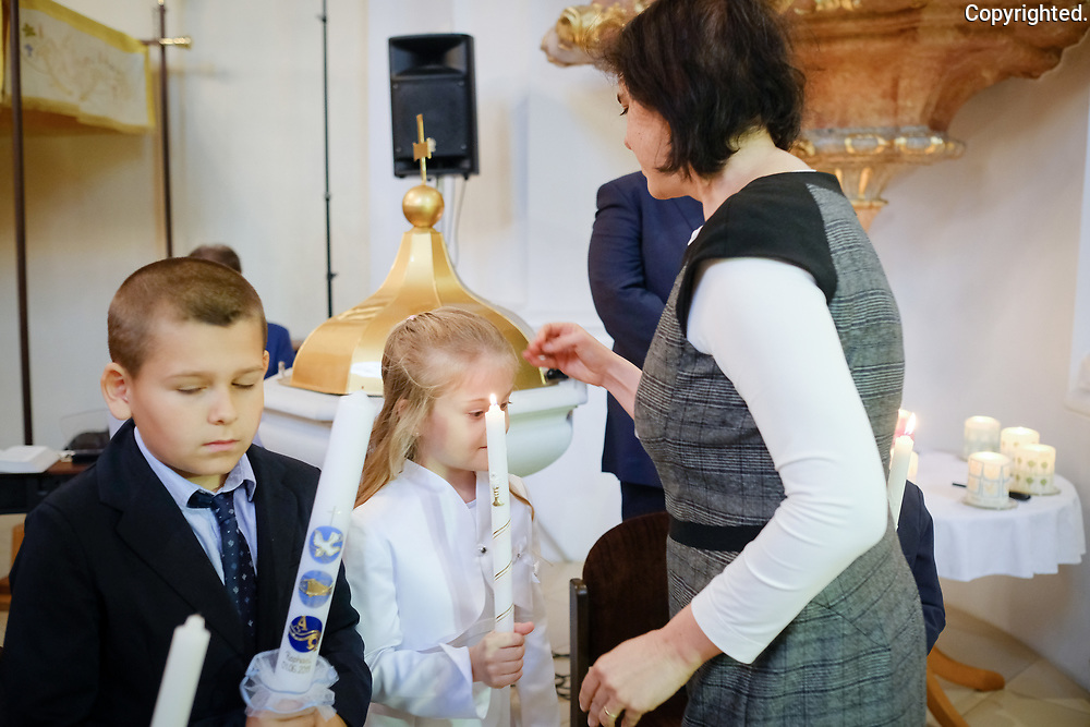 Prve sv. prijimanie Edelstal, Rakusko. 2019