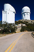 Telescopes at Kit Peak National Observatory, Tohono O'odham Indian Reservation, Arizona USA