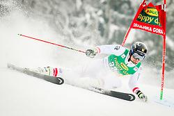 Johannes Strolz of Austria during 2nd run of Men's Giant Slalom race of FIS Alpine Ski World Cup 57th Vitranc Cup 2018, on March 3, 2018 in Podkoren, Kranjska Gora, Slovenia. Photo by Ziga Zupan / Sportida