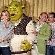 NLD/Amsterdam/20070612 - Photocall Shrek 3 met Antonio Banderas en Cameron Diaz, met de nederlandse stemmencast, Gerard Joling, Jon van Eerd en Chantal Janzen