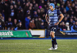 Cardiff Blues' Olly Robinson - Mandatory by-line: Craig Thomas/Replay images - 31/12/2017 - RUGBY - Cardiff Arms Park - Cardiff , Wales - Blues v Scarlets - Guinness Pro 14