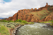 Holy City Rock Formation, Shoshone River, Cody, Wyoming