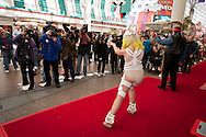 24th February 2011. Las Vegas, Nevada.  Celebrity Impersonators from around the globe were in Las Vegas for the 20th Annual Reel Awards Show. Pictured is 24-year-old Athena Zhe as Lady GaGa. Photo © John Chapple / www.johnchapple.com..