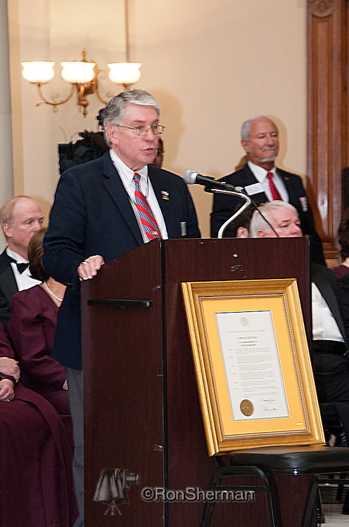 Vietnam Veterans Day in Georgia - A tribute to Georgia Vietnam Medal of Honor Recipients, Atlanta, Georgia - Dan Holtz, Master of Ceremonies; Asst Commissioner; GA Department of Veterans Service