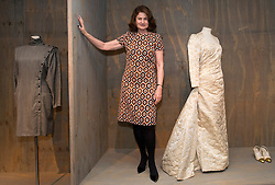 © Licensed to London News Pictures. 29/01/2013. London, United Kingdom. Design Museum receives major donation of fashion collection.  Jill Ritblat (Pictured) has donated her collection of over 400 fashion items tothe design museum.  This is the museum's first significant fashion acquisition and was presented by Lady Ritblat throught the art fund. Photo credit : Justin Setterfield/LNP