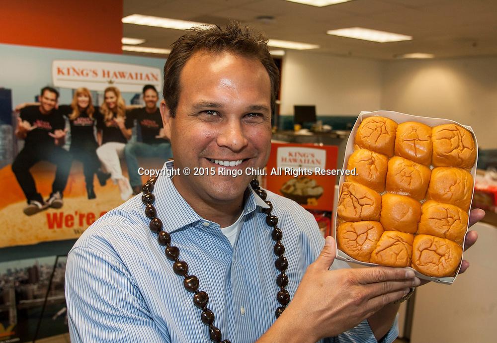 Erick Dickens, vice president, business development for King's Hawaiian.<br /> (Photo by Ringo Chiu/PHOTOFORMULA.com)