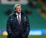 England's Roy Hodgson looks on<br /> <br /> - International Friendly - Scotland vs England- Celtic Park - Glasgow - Scotland - 18th November 2014  - Picture David Klein/Sportimage