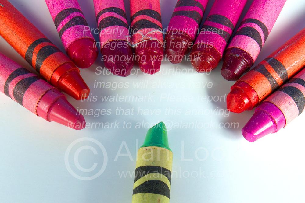 09 August 2014:   Studio - Crayola Crayons