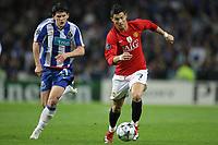 20090415: PORTO, PORTUGAL - FC Porto vs Manchester United: Champions League 2008/2009 Ð Quarter Finals Ð 2nd leg. In picture: Cristiano Ronaldo and Sapunaru. PHOTO: Ricardo Estudante/CITYFILES