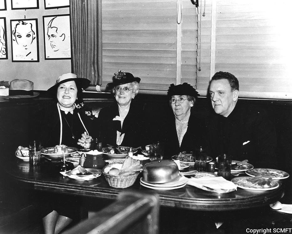 1941 Louella Parsons At The Brown Derby