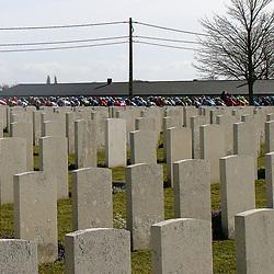 28-03-2021: Wielrennen: Gent-Wevelgem: Wevelgem Sfeerbeeld Flanders Fields
