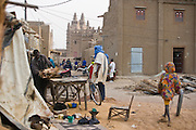 Djene, Mali 2009 - Market day brings thousands in from the sorrounding area