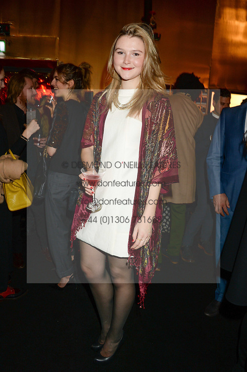 AMBER ATHERTON at the Vogue Pop Up Club at Westfield London to celebrate Westfield London's 5th birthday on 30th October 2013.