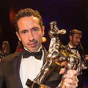 NLD/Utrecht/20181005 - L'OR Gouden Kalveren Gala 2018, Jacob Derwig wint Gouden Kalf