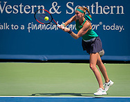 Petra Kvitova of the Czech Republic in action during the semi-final at the 2018 Western and Southern Open WTA Premier 5 tennis tournament, Cincinnati, Ohio, USA, on August 18th 2018, Photo Rob Prange / SpainProSportsImages / DPPI / ProSportsImages / DPPI