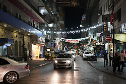 A street view of Ramallah in Palestine. From a series of travel photos taken in Jerusalem and nearby areas. Photo date: Tuesday, July 31, 2018. Photo credit should read: Richard Gray/EMPICS