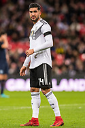 Germany (14) Emre CAN during the Friendly match between England and Germany at Wembley Stadium, London, England on 10 November 2017. Photo by Sebastian Frej.