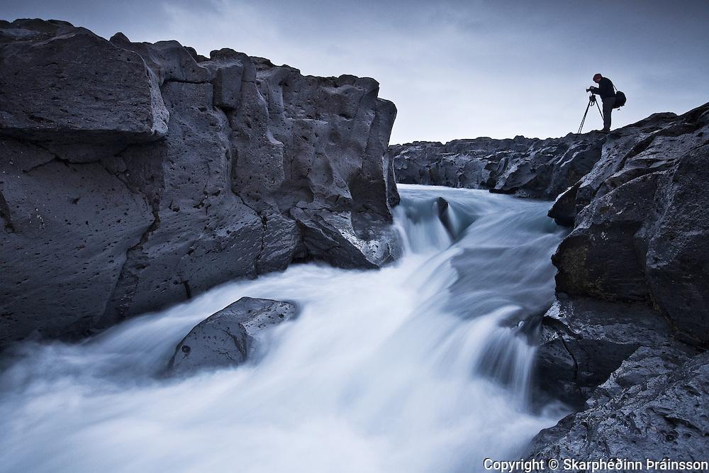 Hvítaá river in Borgarfjörður