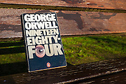 1984 by George Orwell, novel published in 1949.