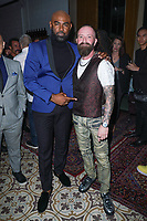 Dimitry Loiseau and Justin Peck at Regard Cares Celebrates Fall Issue Featuring Marisol Nichols held at Palihouse West Hollywood on October 02, 2019 in West Hollywood, California, United States (Photo by © L. Voss/VipEventPhotography.com)