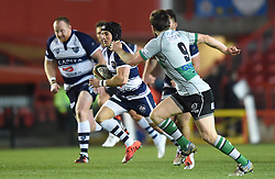 Bristol Rugby fly half Matthew Morgan in action during the Greene King IPA Championship match between Bristol Rugby and Nottingham at Ashton Gate on March 6, 2015 in Bristol, England - Photo mandatory by-line: Paul Knight/JMP - Mobile: 07966 386802 - 06/03/2015 - SPORT - Rugby - Bristol - Ashton Gate Stadium - Bristol Rugby v Nottingham - Greene King IPA Championship
