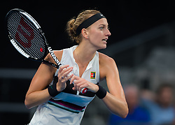 January 18, 2019 - Melbourne, AUSTRALIA - Petra Kvitova of the Czech Republic in action during her third-round match at the 2019 Australian Open Grand Slam tennis tournament (Credit Image: © AFP7 via ZUMA Wire)