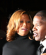 Queen Lafifah & Jamie Foxx.ìDreamgirlsî Premiere Post Party.Gin Lane Restaurant.New York, NY, USA .Monday, December 04, 2006.Photo By Selma Fonseca/ Celebrityvibe.com.To license this image call (212) 410 5354 or;.Email: celebrityvibe@gmail.com; .Website: http://www.celebrityvibe.com/. ....