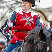 NLD/Arnhem/20180112 - Maxima opent Musis, ruiters op paarden