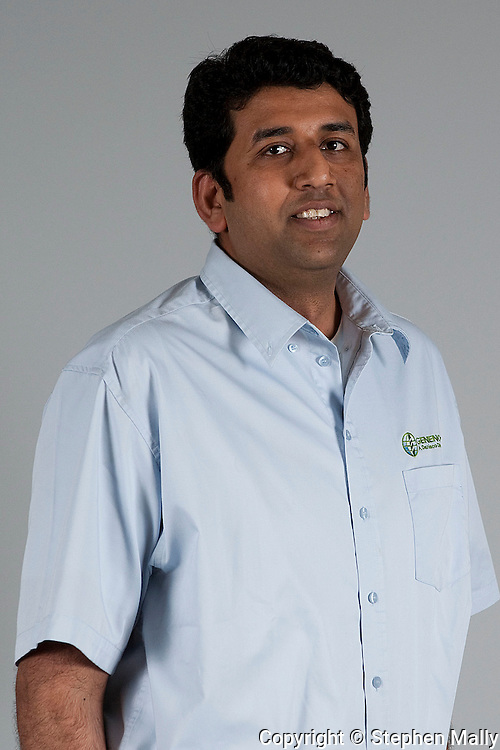 Vivek Sharma at Genencor in Cedar Rapids on Friday July 24, 2009.  (Stephen Mally/Freelance)