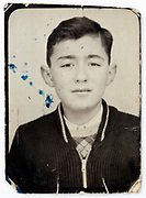 vintage identity head and shoulder portrait of a young adult boy