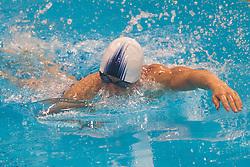 11.08.2012, Acquatics Centre, London, GBR, Olympia 2012, Moderner Fuenfkampf, Schwimmen, Herren, im Bild Thomas Daniel (AUT) // Thomas Daniel (AUT)  during  swimming of Men's Modern Pentathlon at the 2012 Summer Olympics at Aquatics Centre, London, United Kingdom on 2012/08/11. EXPA Pictures © 2012, PhotoCredit: EXPA/ Johann Groder