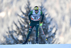 16.12.2017, Nordic Arena, Toblach, ITA, FIS Weltcup Langlauf, Toblach, Herren, 15 km, im Bild Andreas Katz (GER) // Andreas Katz of Germany during men's 15 km of the FIS Cross Country World Cup at the Nordic Arena in Toblach, Italy on 2017/12/16. EXPA Pictures © 2017, PhotoCredit: EXPA/ Nisse Schmidt<br /> <br /> *****ATTENTION - OUT of SWE*****