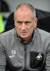 Swansea City Manager Francesco Guidolin - Mandatory byline: Alex James/JMP - 07966386802 - 11/09/2016 - FOOTBALL - Barclays premier league -swansea,Wales - Swansea v Chelsea  -
