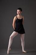Kaylee Arca poses during her Ballet Portrait Session in Los Gatos, California, on July 22, 2015. (Stan Olszewski/SOSKIphoto)