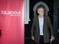 © Licensed to London News Pictures. 15/10/2015. Bristol, UK.  JEREMY CORBYN, leader of the Labour Party, at a rally for Labour Party members at the Trinity Centre in Bristol, to highlight and oppose the impact of the Governmentís changes to voter registration, expected to remove 1 million voters from the electoral roll by the end of the year. Photo credit : Simon Chapman/LNP