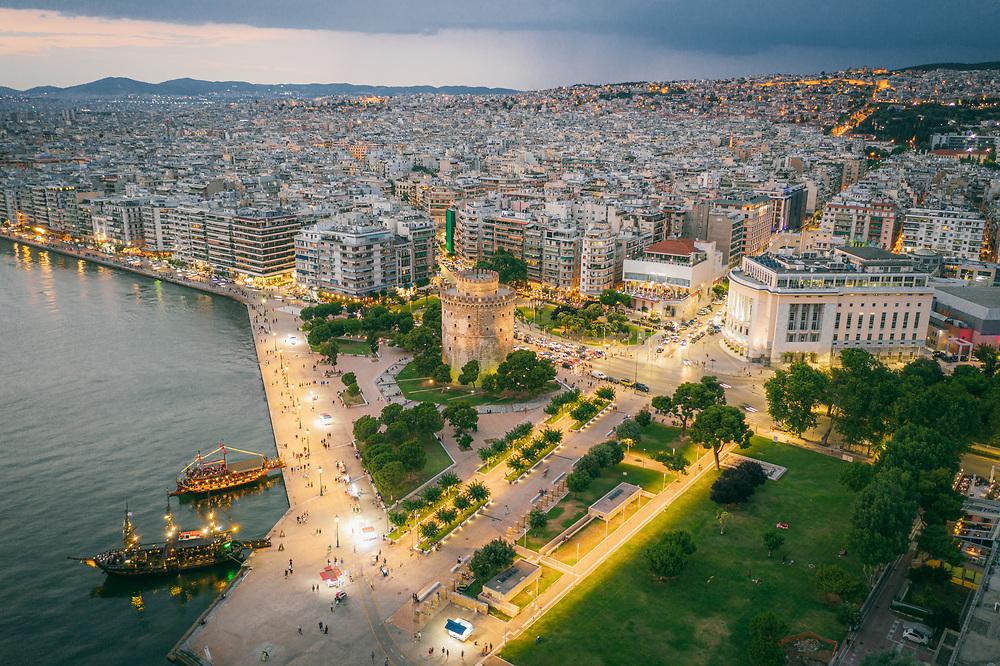 White Tower of Thessaloniki , Greece